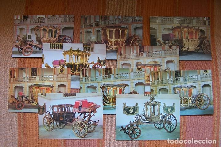 Postales: 34 POSTALES DEL MUSEO DE COCHES DE LISBOA, PORTUGAL. EN SU CAJA ORIGINAL. - Foto 4 - 176643633