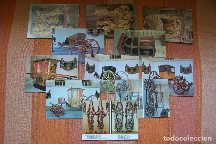 Postales: 34 POSTALES DEL MUSEO DE COCHES DE LISBOA, PORTUGAL. EN SU CAJA ORIGINAL. - Foto 5 - 176643633