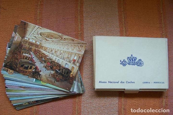 Postales: 34 POSTALES DEL MUSEO DE COCHES DE LISBOA, PORTUGAL. EN SU CAJA ORIGINAL. - Foto 7 - 176643633