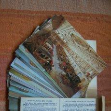 Postales: 34 POSTALES DEL MUSEO DE COCHES DE LISBOA, PORTUGAL. EN SU CAJA ORIGINAL.. Lote 176643633
