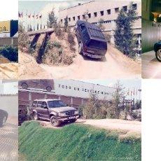 Postales: LOTE 71: 32 FOTOGRAFÍAS COCHES 10X15 CM AÑOS 90 DIFERENTES SALONES AUTOMÓVIL PORSCHE BMW MERCEDES . Lote 177108792