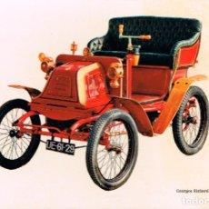 Postales: GEORGES RICHARD 3,5 HP DEL AÑO 1900. Lote 177370708
