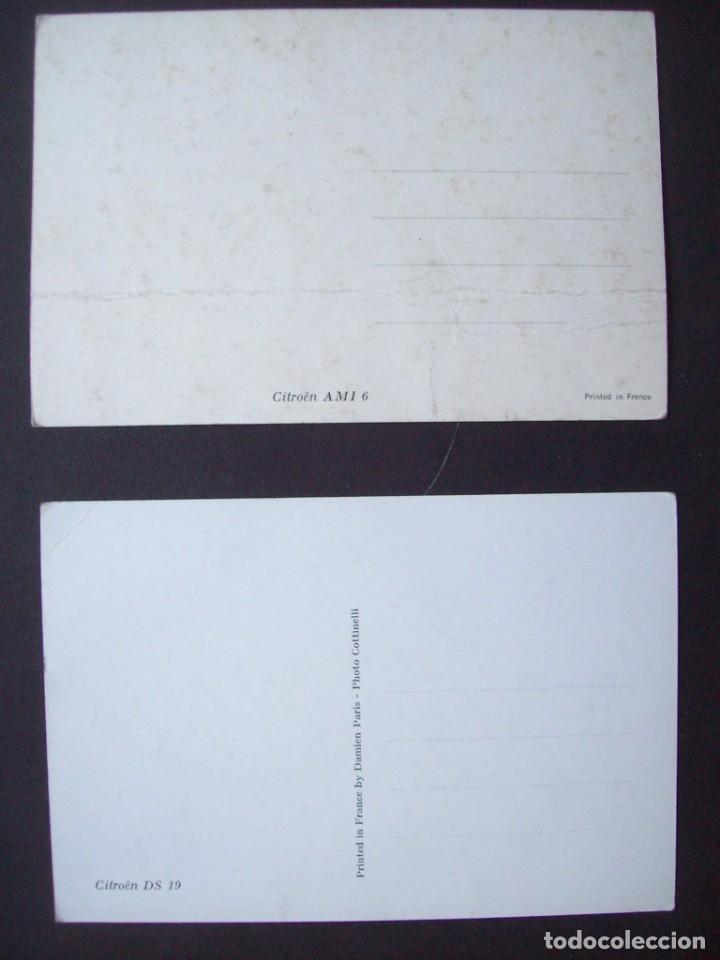 Postales: Lote de 7 postales CITROËN. - Foto 3 - 177617442