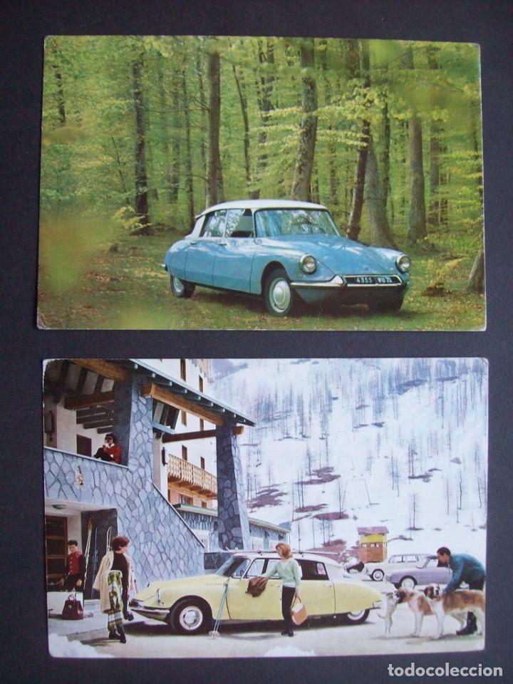 Postales: Lote de 7 postales CITROËN. - Foto 4 - 177617442