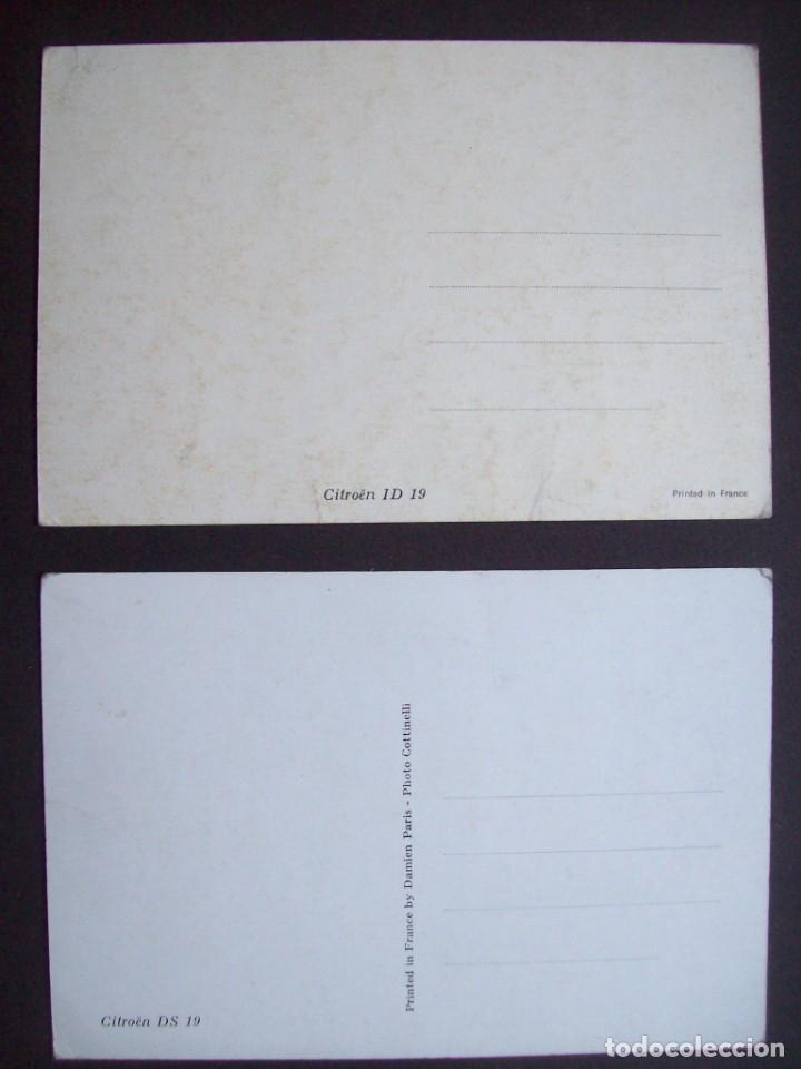 Postales: Lote de 7 postales CITROËN. - Foto 5 - 177617442