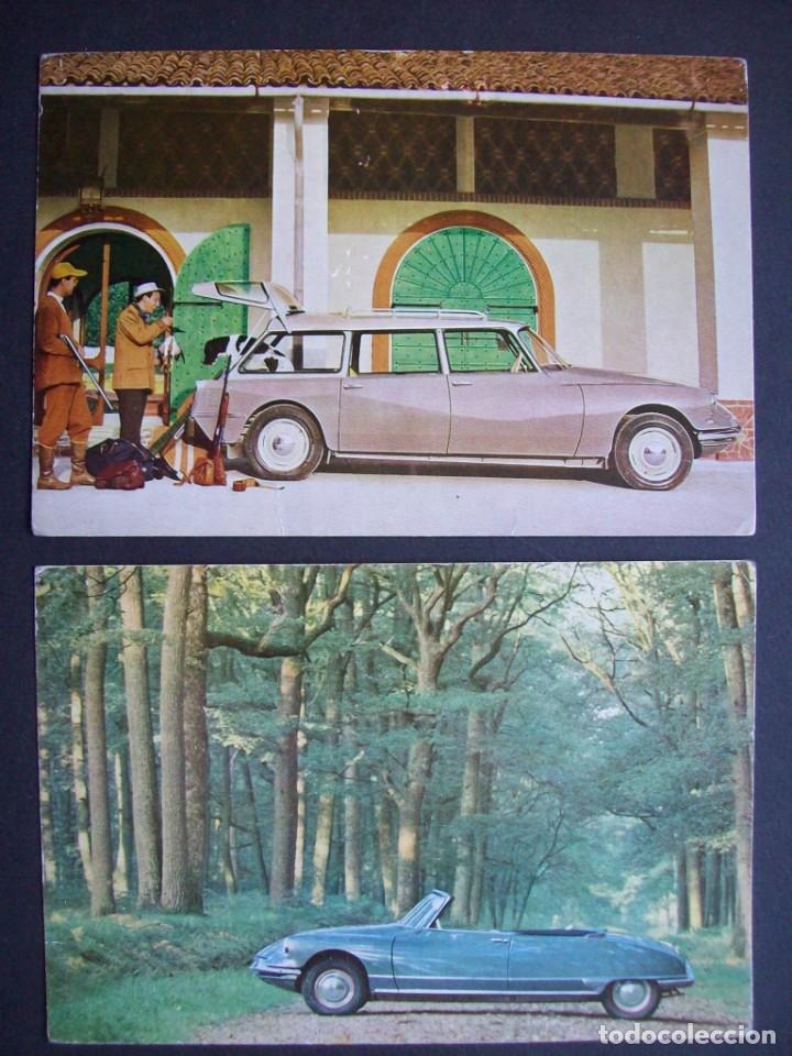 Postales: Lote de 7 postales CITROËN. - Foto 6 - 177617442