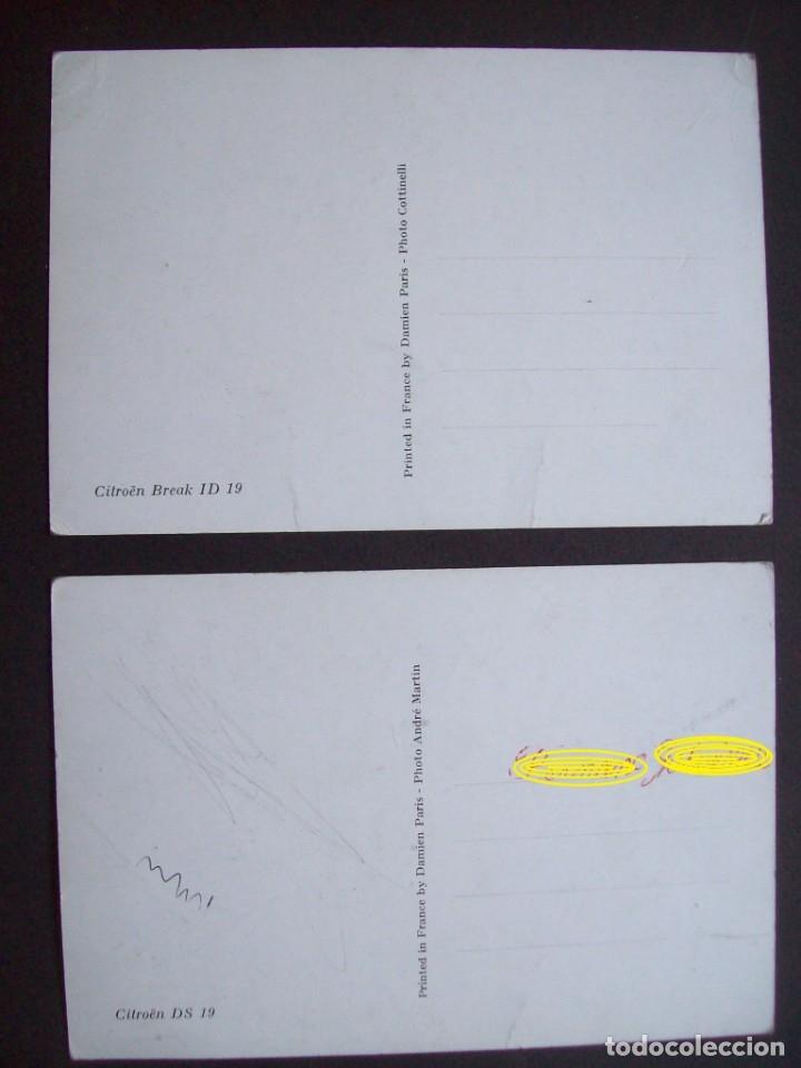 Postales: Lote de 7 postales CITROËN. - Foto 7 - 177617442