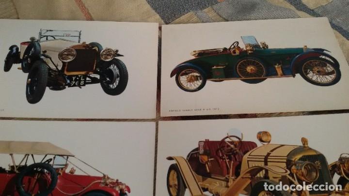 Postales: 6 postales coches antiguos, SIN CIRCULAR. Gastos envio 5 euros - Foto 2 - 177942852