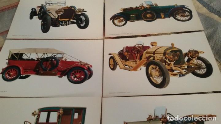 Postales: 6 postales coches antiguos, SIN CIRCULAR. Gastos envio 5 euros - Foto 3 - 177942852