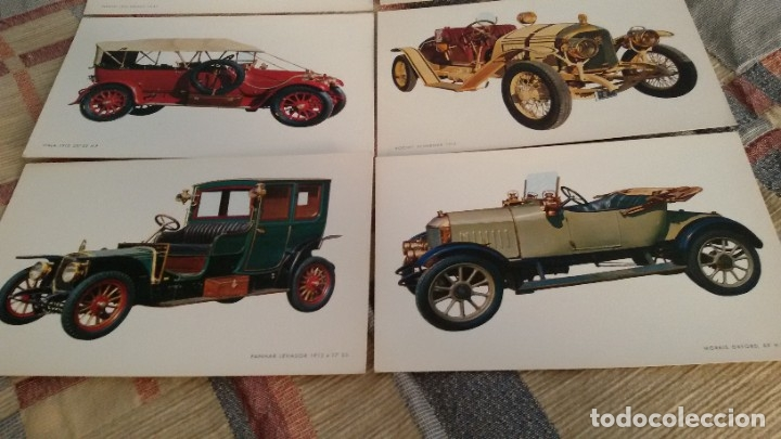 Postales: 6 postales coches antiguos, SIN CIRCULAR. Gastos envio 5 euros - Foto 4 - 177942852