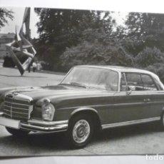 Postales: POSTAL GRANDE MERCEDES BENZ -220 COUPE 1961 EDICION ESPECIAL. Lote 178627956