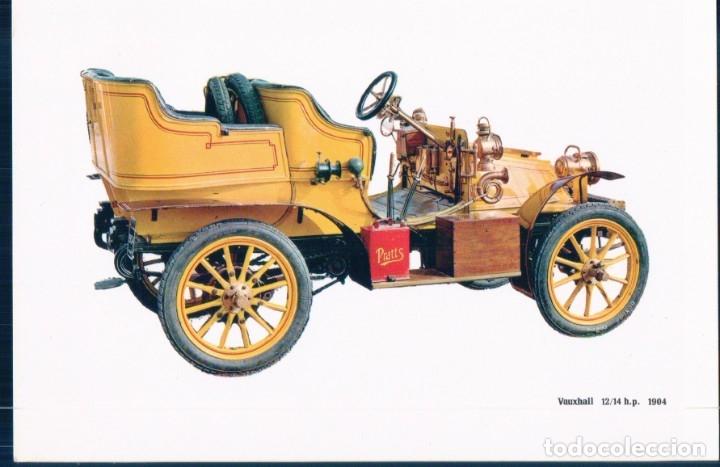 COCHES CLASICOS VAUXHALL 1904 - CAJA PENSIONES- (Postales - Postales Temáticas - Coches y Automóviles)