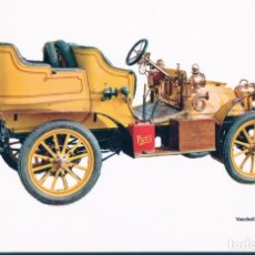 Postales: COCHES CLASICOS VAUXHALL 1904 - CAJA PENSIONES-. Lote 179072612