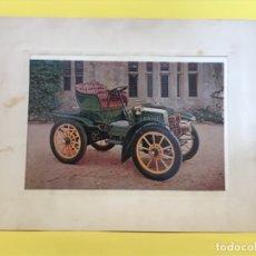 Postales: PANHARD LEVASSOR 1902 DESCAPOTABLE FOTO POSTAL EN MARCO DE CARTON IMPECABLE COCHE CLASICO . Lote 179086653