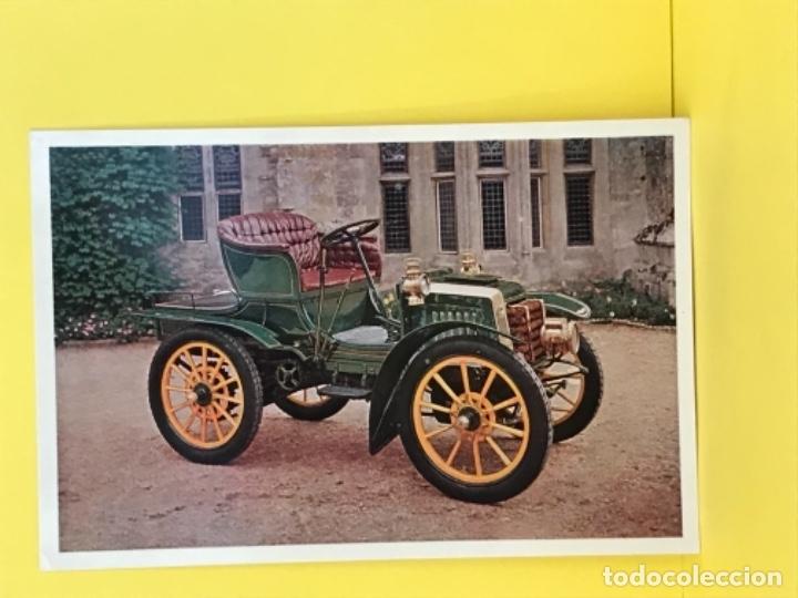 Postales: Panhard levassor 1902 descapotable foto postal en marco de carton impecable coche clasico - Foto 2 - 179086653