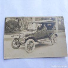 Postales: FOTO-POSTAL COCHE DE ÉPOCA. SIN CIRCULAR.. Lote 179559256
