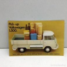Postales: POSTAL PICK-UP VOLKSWAGEN 1.500 - GOLF - AUTOMOCIÓN - SIN CIRCULAR. Lote 180008272