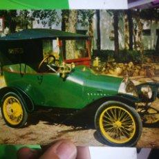 Postales: POSTAL COCHES DE EPOCA BELE PEUGEOT 5 HP CONSTRUIDO EN EL AÑO 1913 POR EL INGENIERO BUGATTI 4 CILIND. Lote 180193310