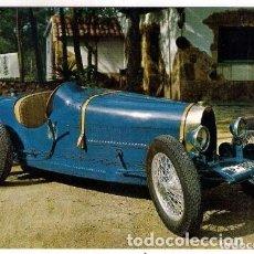 Postales: -66980 POSTAL COCHE ANTIGUO, BUGATTI 11 HP, AÑO 1925, ESCUDO DE ORO, SERIE B Nº 24, AUTOMOVILES. Lote 180935102