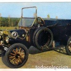 Postales: -51981 POSTAL COCHE ANTIGUO, FORD T 17 HP AÑO 1913, ESCUDO DE ORO, SERIE B Nº 33, AUTOMOVILES. Lote 180936283