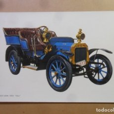 Postales: POSTAL - COCHES - PEUGEOT-LION, 1903 ''CLEO' - ED. C Y Z. Lote 181139650