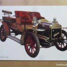 Postales: POSTAL - COCHES - SALAMANCA, 1905 - ED. C Y Z. Lote 181139727