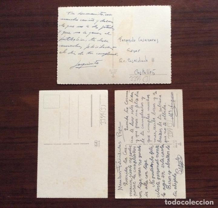 Postales: GRUPO DE 3 POSTAL DISTINTAS. NIÑOS Y BISCUTER. - Foto 2 - 181616501