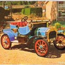 Postales: BRUSHMOBILE DE 1904, POSTAL ESPAÑOLA, AÑOS 50. Lote 182215487