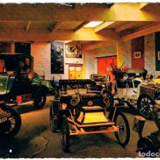 Postales: RENAULT DE 1902 Y UNIC DE 1908 (MOTOR BUGATTI), POSTAL FRANCESA. Lote 182215985