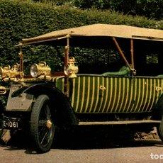 Postales: 1910 LANCHESTER BRITISH TORPEDO PHAETON. Lote 182987022