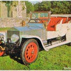 Postales: ROLLS ROYCE SILVER GHOST DEL AÑO 1909, POSTAL ESPAÑOLA. Lote 183398561