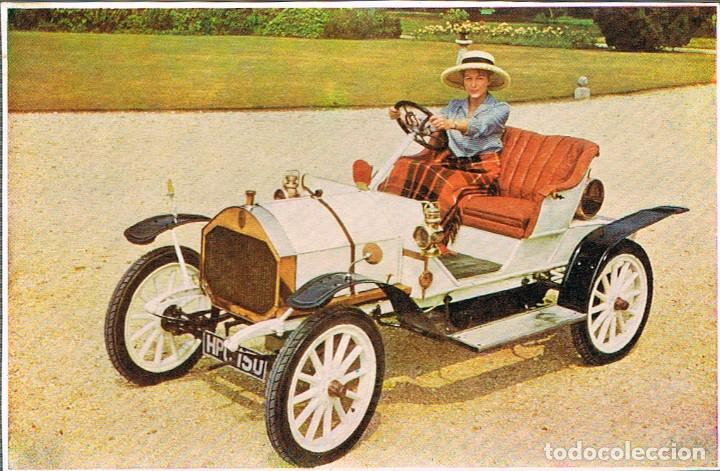 HUMBER DEL AÑO 1909, POSTAL ESPAÑOLA (Postales - Postales Temáticas - Coches y Automóviles)