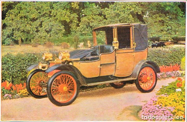 LANCHESTER DEL AÑO 1908, POSTAL ESPAÑOLA (Postales - Postales Temáticas - Coches y Automóviles)