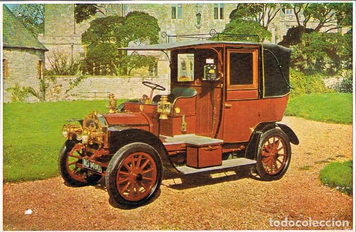 UNIC DEL AÑO 1908, POSTAL FRANCESA (Postales - Postales Temáticas - Coches y Automóviles)