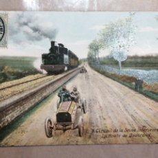 Postales: CIRCUITO DEL SENA RUTA DE DOUVREIN PARÍS 1907. Lote 183759937