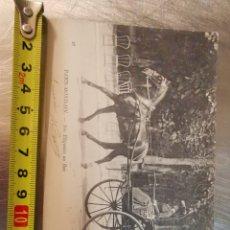 Postales: POSTAL DE MONDAIN, PARÍS. CARROZA. NOS ELEGANTS AU BOIS DE 1904. FAMILIA BLANCHE. Lote 188476362