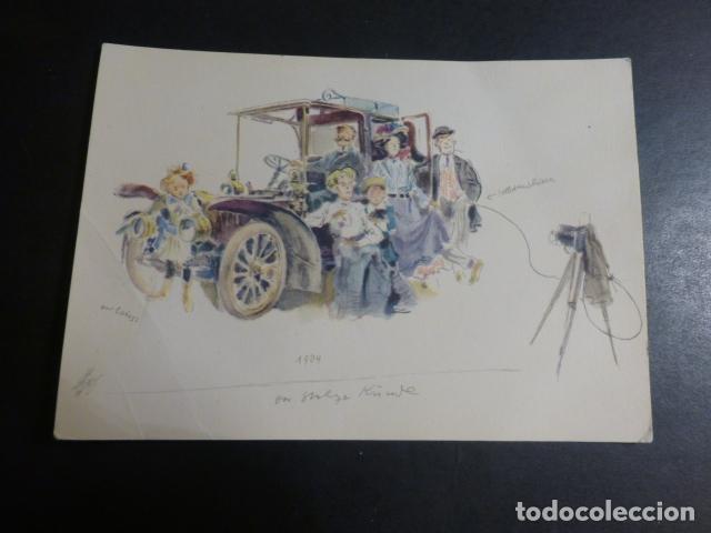 MERCEDES BENZ COCHE AUTOMOVIL POSTAL (Postales - Postales Temáticas - Coches y Automóviles)