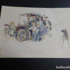 Postales: MERCEDES BENZ COCHE AUTOMOVIL POSTAL. Lote 190724302