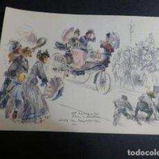 Postales: MERCEDES BENZ COCHE AUTOMOVIL POSTAL. Lote 190724342