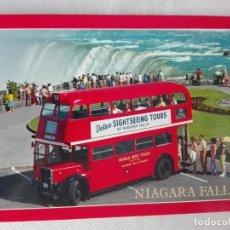 Postales: POSTAL NUEVA AUTOBUS CANADA - RSS 2NH 126-B - AUTOBUS DOS PISOS - NIAGARA FALLS ONTARIO . Lote 193956331