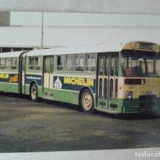 Postales: POSTAL NUEVA EUROFER 1027 - AUTOBUS PEGASO - VALENCIA - PUB MICHELIN. Lote 193958468