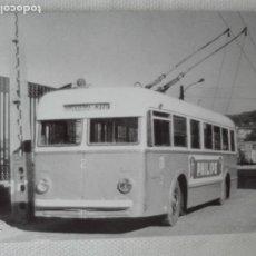 Postales: POSTAL NUEVA EUROFER 4268 - TROLEBUS PONTEVEDRA MARIN - PUB PHILIPS. Lote 193959828