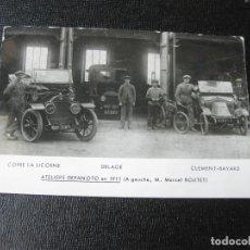 Postales: POSTAL FOTOGRÁFICA PUBLICITARIA DE DEPANOTO. AUTOMÓVILES ANTIGUOS. AÑOS 80. Lote 194218107