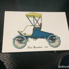 Postales: POSTAL DE COCHES - LA DE LA FOTO VER TODAS MIS POSTALES. Lote 194373787