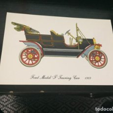 Postales: POSTAL DE COCHES - LA DE LA FOTO VER TODAS MIS POSTALES. Lote 194374167