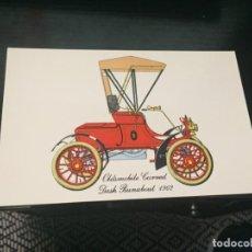 Postales: POSTAL DE COCHES - LA DE LA FOTO VER TODAS MIS POSTALES. Lote 194374233