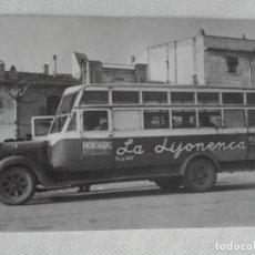 Postales: POSTAL EUROFER 4288 - AUTOBUS - MONTBRIO DEL CAMP TARRAGONA - PUB HELADO LA JIJONENCA HORCHATA. Lote 194551442
