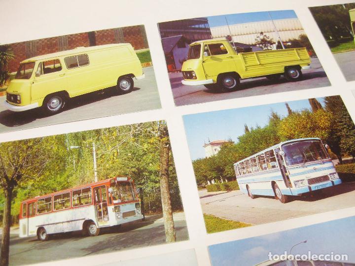 Postales: SOBRE ORIGINAL PEGASO CON 10 POSTALES DE AUTOCARES Y SAVA J-4 - Foto 2 - 194649808
