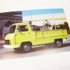 Postales: POSTAL DE LA FURGONETA PEGASO SAVA 5.730 PLATAFORMA. Lote 194650456