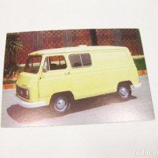 Postales: POSTAL DE LA FURGONETA PEGASO SAVA 5.730 COMBI. Lote 194650510